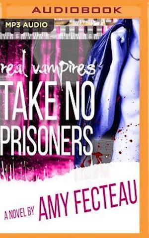 Lydbog, CD Real Vampires Take No Prisoners af Amy Fecteau