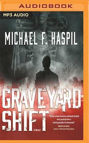 Lydbog, CD Graveyard Shift af Michael F. Haspil