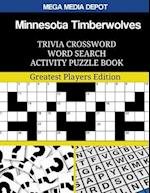 Minnesota Timberwolves Trivia Crossword Word Search Activity Puzzle Book