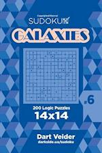 Sudoku Galaxies - 200 Logic Puzzles 14x14 (Volume 6)