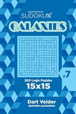 Sudoku Galaxies - 200 Logic Puzzles 15x15 (Volume 7)