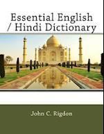 Essential English / Hindi Dictionary