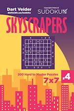 Sudoku Skyscrapers - 200 Hard to Master Puzzles 7x7 (Volume 4)