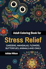 Adult Coloring Book for Stress Relief