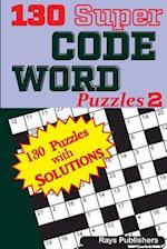 130 Super Code Word Puzzles