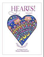 Hearts! Volume 3 - A Hippie Coloring Book