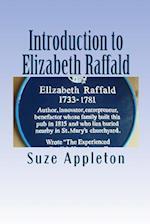 Introduction to Elizabeth Raffald