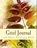 Grief Journal and Adult Coloring Book