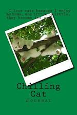Chilling Cat (Journal / Notebook)