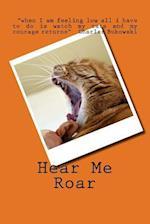 Hear Me Roar Cat (Journal / Notebook)