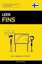 Leer Fins - Snel / Gemakkelijk / Efficient