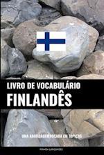 Livro de Vocabulario Finlandes