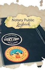 Notary Public Logbook