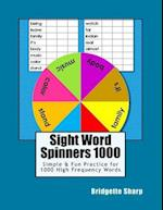 Sight Word Spinners 1000
