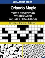 Orlando Magic Trivia Crossword Word Search Activity Puzzle Book