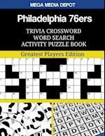 Philadelphia 76ers Trivia Crossword Word Search Activity Puzzle Book