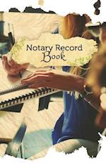 Notary Record Book