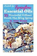 Springtime Essential Oils