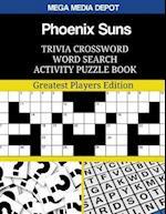 Phoenix Suns Trivia Crossword Word Search Activity Puzzle Book