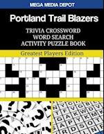 Portland Trail Blazers Trivia Crossword Word Search Activity Puzzle Book