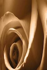 Floral Journal Pretty Autumn Rose