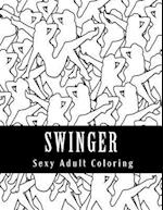 Swinger Sexy Adult Coloring Book