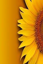 Floral Journal Vibrant Sunflower