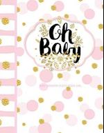 Baby Shower Guest Book Girl