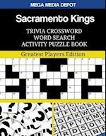 Sacramento Kings Trivia Crossword Word Search Activity Puzzle Book
