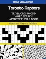 Toronto Raptors Trivia Crossword Word Search Activity Puzzle Book