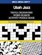Utah Jazz Trivia Crossword Word Search Activity Puzzle Book