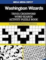Washington Wizards Trivia Crossword Word Search Activity Puzzle Book