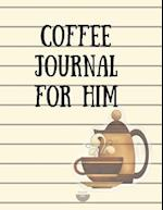 Coffee Journal for Him