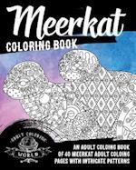 Meerkat Coloring Book