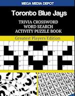Toronto Blue Jays Trivia Crossword Word Search Activity Puzzle Book