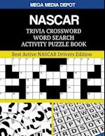 NASCAR Trivia Crossword Word Search Activity Puzzle Book