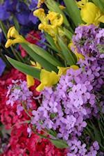 Floral Journal Flowers Multiple Colors