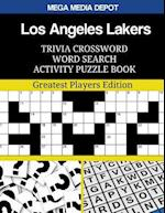Los Angeles Lakers Trivia Crossword Word Search Activity Puzzle Book