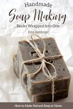 Homemade Soap Making Books Wrapped Into One