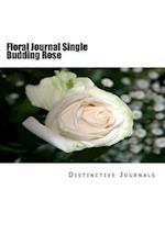 Floral Journal Single Budding Rose