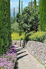 A Charming Path Through a European Garden in the Summertime Journal