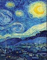 Van Gogh's Starry Night, Artist Drawing Pad