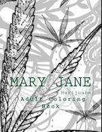 Mary Jane Adult Coloring Book
