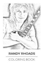 Randy Rhoads Coloring Book