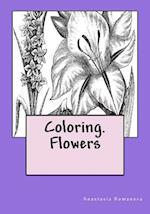 Coloring. Flowers