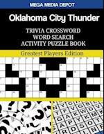 Oklahoma City Thunder Trivia Crossword Word Search Activity Puzzle Book