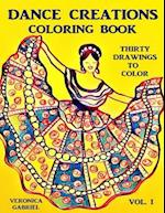 Dance Creations Coloring Book