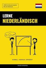 Lerne Niederlandisch - Schnell / Einfach / Effizient