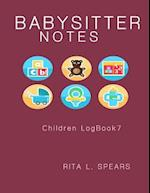 The Babysitter Notebook
