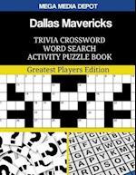 Dallas Mavericks Trivia Crossword Word Search Activity Puzzle Book